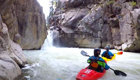 dave farkas on Vallecito Creek