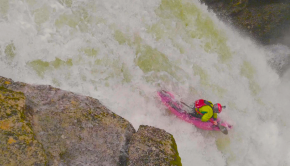 Paul Aubertin on the Saut du Doubs High Water
