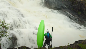 environment film by kayak n roll team kayaking the Kutsayoki