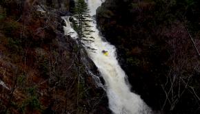 robert eggleston steeze inchree slides scotland creeking