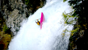 Dane Jackson shows us how it's done, a 70ft back freewheel...