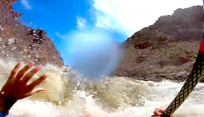 Watch US paddler Max Morris spend a nice minute in a hole in the Cataract Canyon of the Colorado River! By: Max Morris