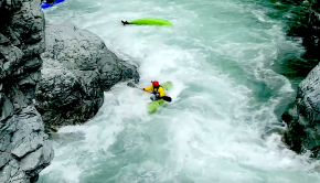 Watch a group of Slovakian paddlers rolling, swimming and spinning out of control below the Ingresso Gorge on the Sesia river in Italy. By: Mario Urbanec Kayakers: Eli, Reno, Matej, Žito, Peter, Laci