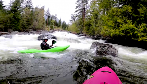 """Follow Dane Jackson down the steep and pushy Icicle Creek in Washington State near Leavenworth. """"So many holes, stout sections, and fun moves. It's a dope section, I will be coming back for it for sure!"""""""