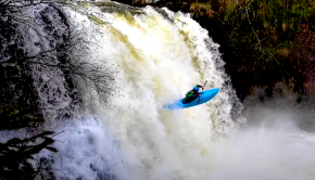 Follow Filip Knörr on a sweet Norwegian park and huck near Lillehammer. Looks like a solid 30ft boof, check it out!