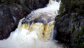 Follow Filip Knörr on another epic Norwegian park n huck: Etna Falls! Enjoy.