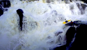 Follow kiwi paddler Oliver English on some sweet NZ north island rain fed stouts: Abyss Jamz and McLaren Falls. Spicy.