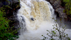 Follow Robert Eggleston down one of his local runs, the Falloch! A sweet scottish whitewater gem with a perfect 30ft drop and nice pushy gorge, check it out!