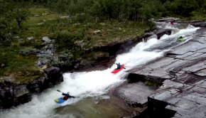 Follow the Senders on their return to Norway this summer, ripping up some classics like the Ula slides & Skjoli river...