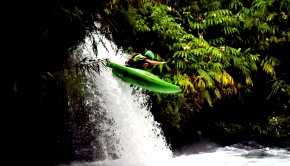 Follow a group of french paddlers exploring the rivers of the Réunion Island in the Indian Ocean for 2 months. With volcanic rock, lush jungles and enless waterfalls, this place is a true paradise. By: Yohan Amiot
