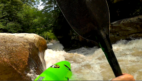 Watch US paddler Cashion Porter-Shirley getting a solid beatdown on the one and only Gorilla rapid on the Green River. Hats off for holding on till the end!